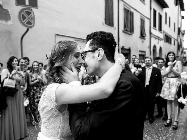 Il matrimonio di Gennaro e Giulia a Montevarchi, Arezzo 32