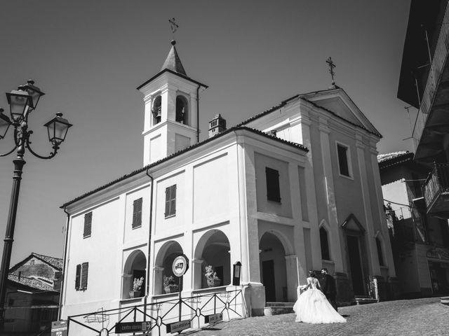 Il matrimonio di Gianluca e Edith a Cocconato, Asti 31