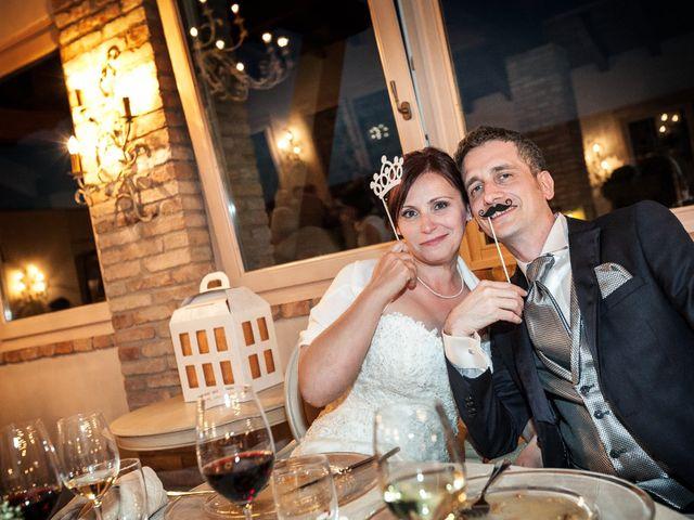 le nozze di Chiara e Massimo
