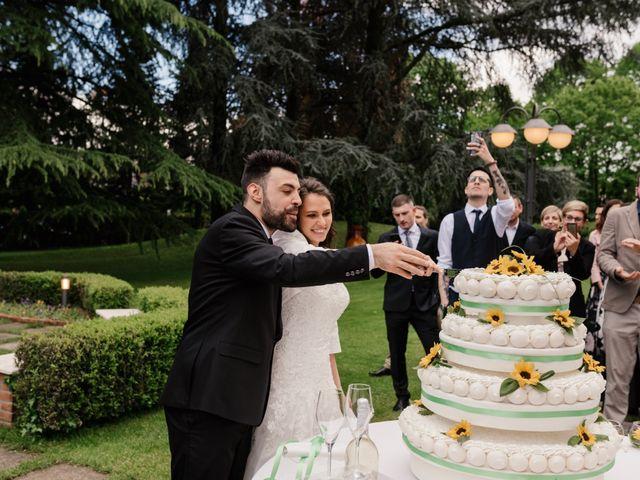 Il matrimonio di Mirko e Giada a Sulbiate, Monza e Brianza 56