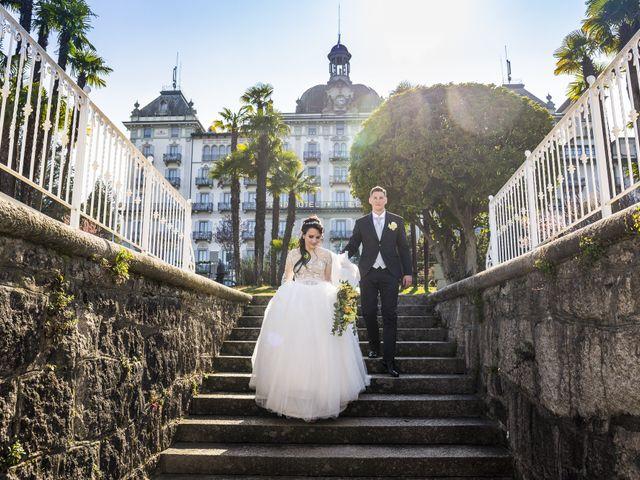Il matrimonio di Alexander e Silvia a Stresa, Verbania 3