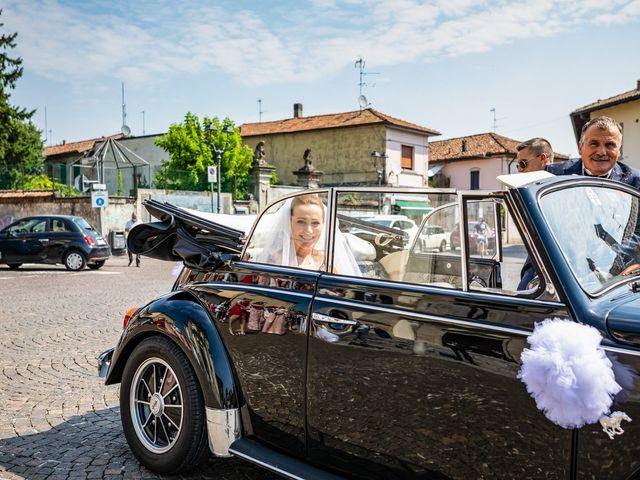 Il matrimonio di Mattia e Valentina a Fara Gera d'Adda, Bergamo 15