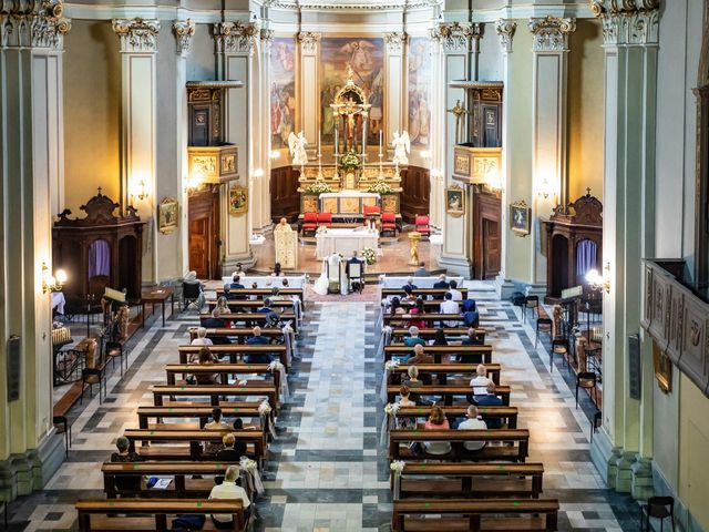 Il matrimonio di Mattia e Valentina a Fara Gera d'Adda, Bergamo 21