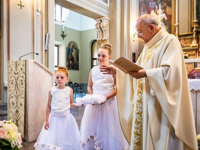 Il matrimonio di Mattia e Valentina a Fara Gera d'Adda, Bergamo 22