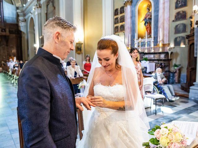 Il matrimonio di Mattia e Valentina a Fara Gera d'Adda, Bergamo 24