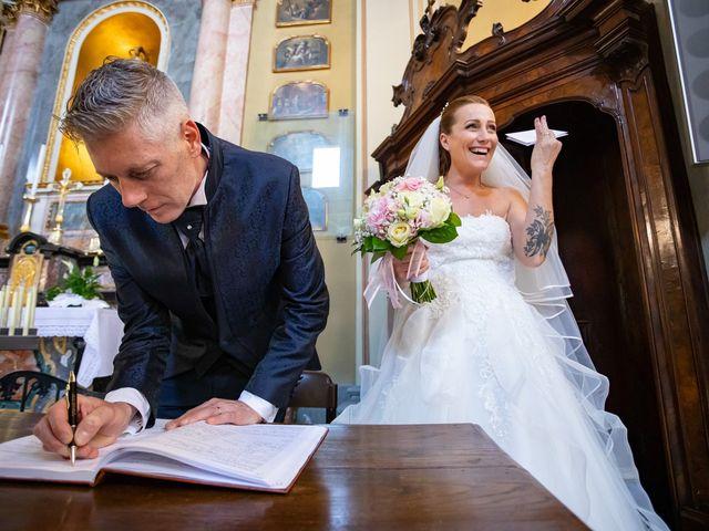 Il matrimonio di Mattia e Valentina a Fara Gera d'Adda, Bergamo 27