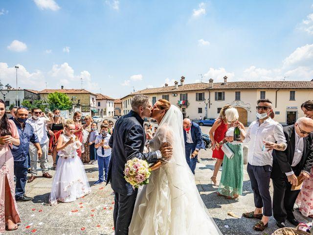 Il matrimonio di Mattia e Valentina a Fara Gera d'Adda, Bergamo 29