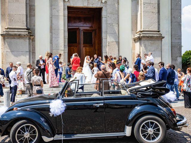 Il matrimonio di Mattia e Valentina a Fara Gera d'Adda, Bergamo 30