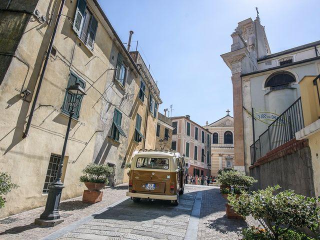 Il matrimonio di Fabio e Alice a Albissola Marina, Savona 16