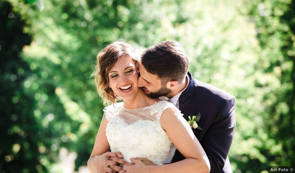 Il matrimonio di Gianluca e Edith a Cocconato, Asti