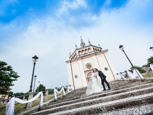 Il matrimonio di Michele e Gloria a Capriate San Gervasio, Bergamo 23