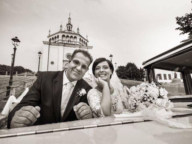 Il matrimonio di Michele e Gloria a Capriate San Gervasio, Bergamo 24