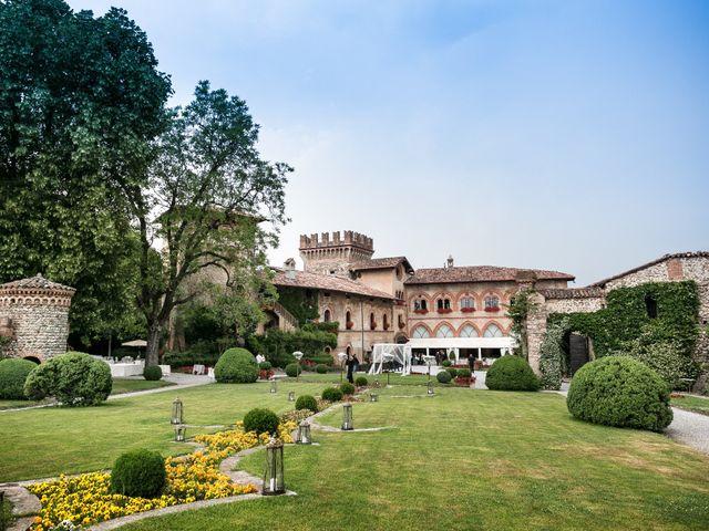 Il matrimonio di Michele e Gloria a Capriate San Gervasio, Bergamo 25