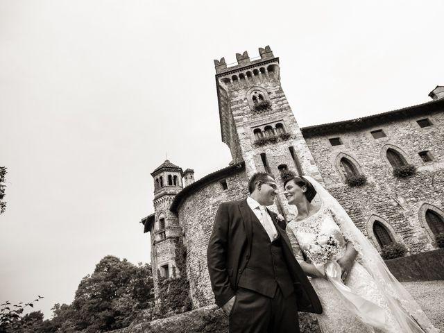 Il matrimonio di Michele e Gloria a Capriate San Gervasio, Bergamo 27