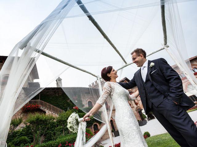 Il matrimonio di Michele e Gloria a Capriate San Gervasio, Bergamo 29