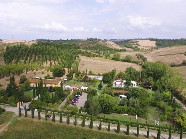 Il matrimonio di Carlo e Barbara a San Gimignano, Siena 6