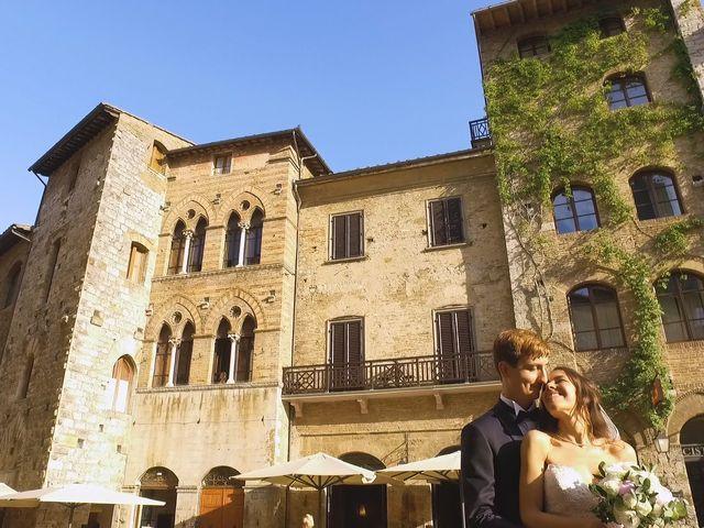 Il matrimonio di Carlo e Barbara a San Gimignano, Siena 23