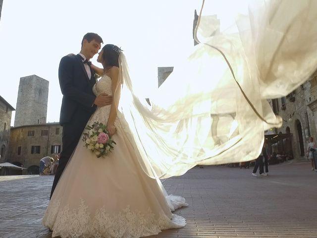Il matrimonio di Carlo e Barbara a San Gimignano, Siena 24