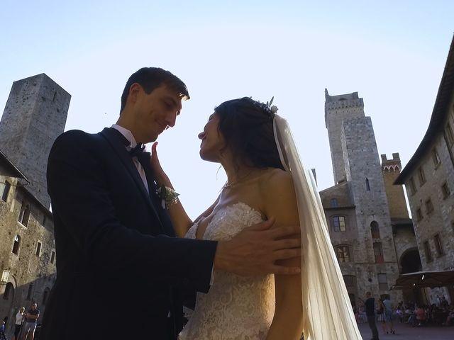 Il matrimonio di Carlo e Barbara a San Gimignano, Siena 25
