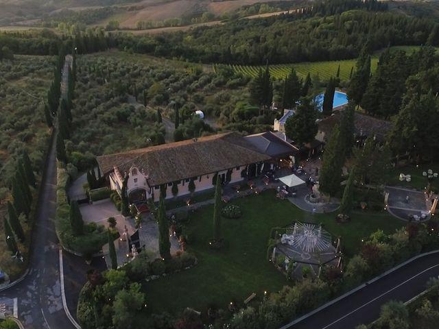 Il matrimonio di Carlo e Barbara a San Gimignano, Siena 31
