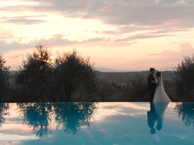Il matrimonio di Carlo e Barbara a San Gimignano, Siena 43