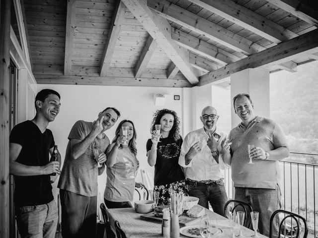 Il matrimonio di Cedric e Dora a Bizzarone, Como 4