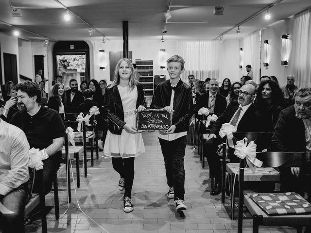 Il matrimonio di Cedric e Dora a Bizzarone, Como 16