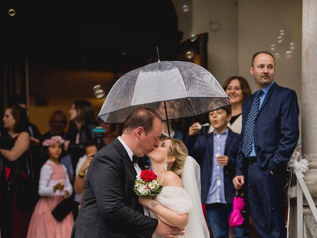 Il matrimonio di Cedric e Dora a Bizzarone, Como 22