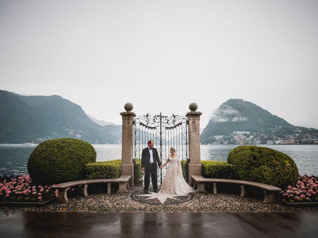Il matrimonio di Cedric e Dora a Bizzarone, Como 23