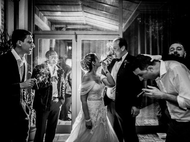 Il matrimonio di Cedric e Dora a Bizzarone, Como 1