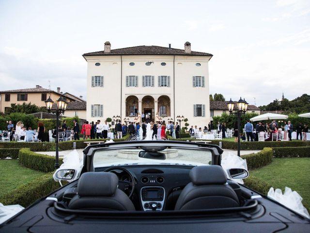 Il matrimonio di Melcarne e Michelle a Soragna, Parma 2