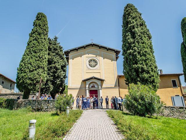 Il matrimonio di Mauro e Maria a Provaglio d'Iseo, Brescia 66
