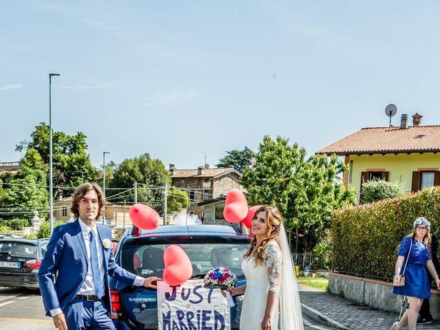 Il matrimonio di Mauro e Maria a Provaglio d'Iseo, Brescia 95