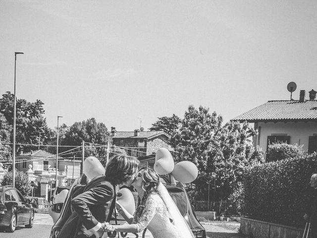 Il matrimonio di Mauro e Maria a Provaglio d'Iseo, Brescia 96