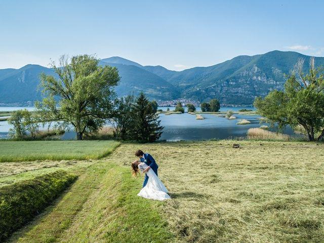 Il matrimonio di Mauro e Maria a Provaglio d'Iseo, Brescia 113