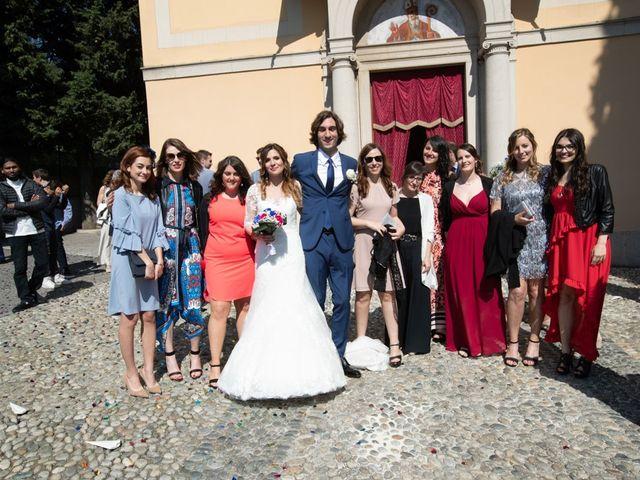 Il matrimonio di Mauro e Maria a Provaglio d'Iseo, Brescia 86
