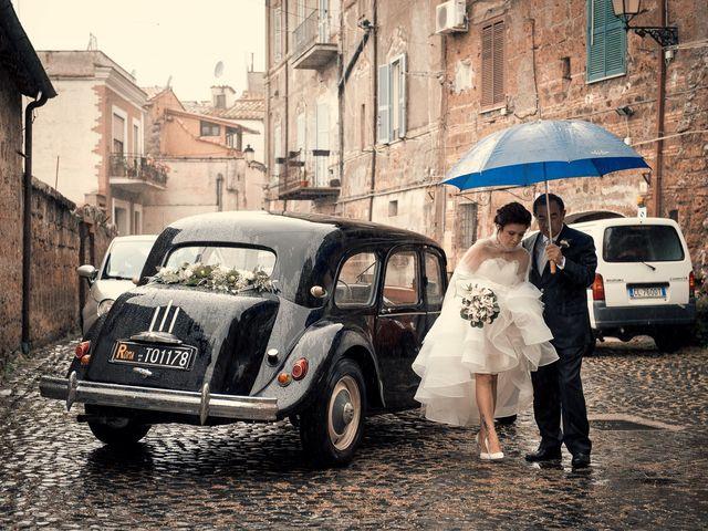 Il matrimonio di Sara e Andrea a Castel Sant'Elia, Viterbo 5