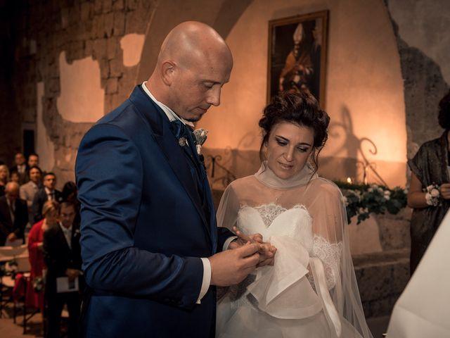 Il matrimonio di Sara e Andrea a Castel Sant'Elia, Viterbo 6