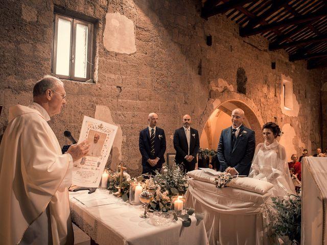 Il matrimonio di Sara e Andrea a Castel Sant'Elia, Viterbo 7