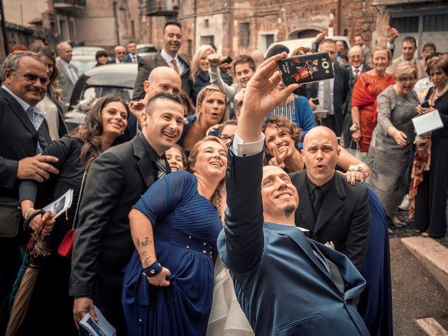 Il matrimonio di Sara e Andrea a Castel Sant'Elia, Viterbo 8