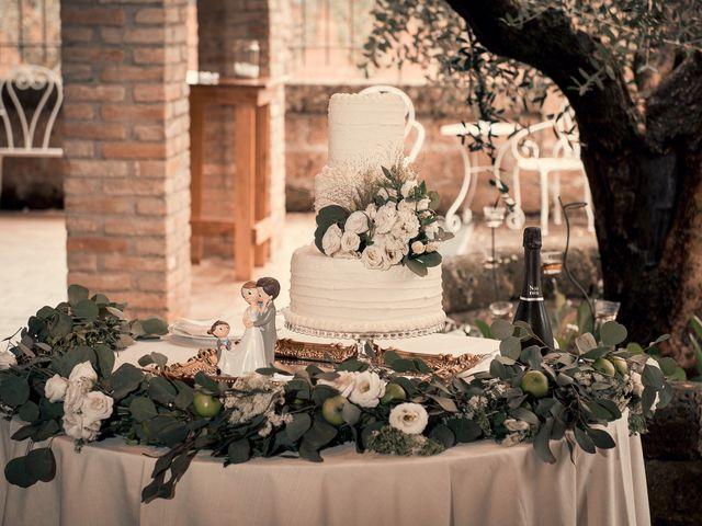 Il matrimonio di Sara e Andrea a Castel Sant'Elia, Viterbo 13