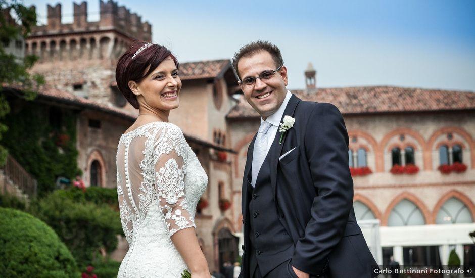 Il matrimonio di Michele e Gloria a Capriate San Gervasio, Bergamo