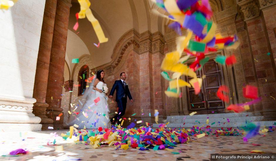 Il matrimonio di Sebastiano e Beatrice a Osimo, Ancona