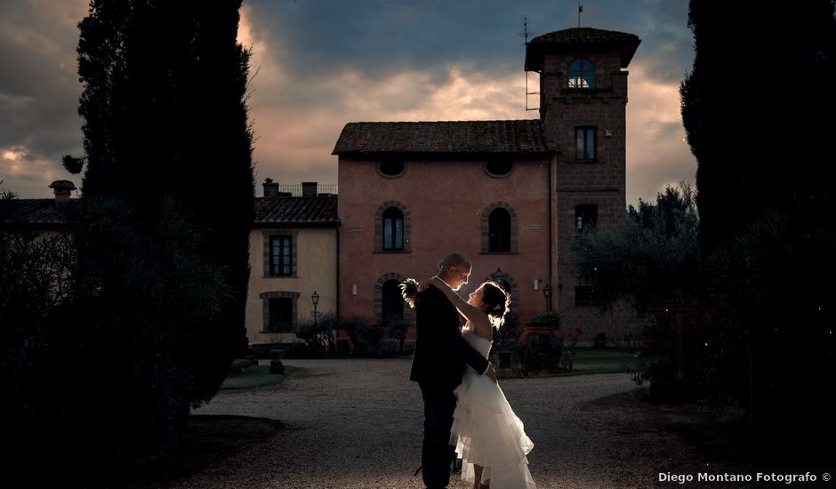 Il matrimonio di Sara e Andrea a Castel Sant'Elia, Viterbo