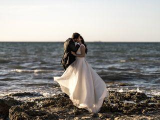 Le nozze di Yvonne e Nino