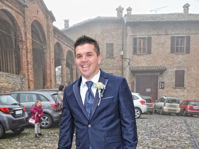 Il matrimonio di Adnan e Giulia a Castell'Arquato, Piacenza 15