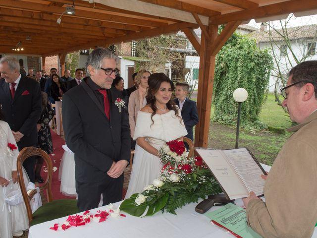 Il matrimonio di Luigi e Patricia a Velezzo Lomellina, Pavia 11
