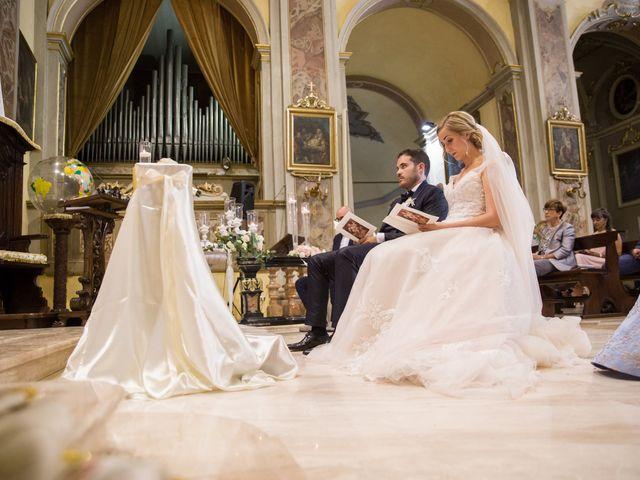 Il matrimonio di Davide e Paola a Castelnuovo Bocca d'Adda, Lodi 44