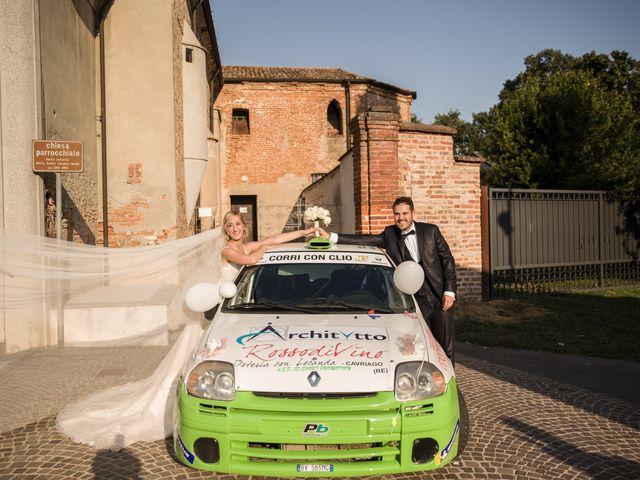 Il matrimonio di Davide e Paola a Castelnuovo Bocca d'Adda, Lodi 70