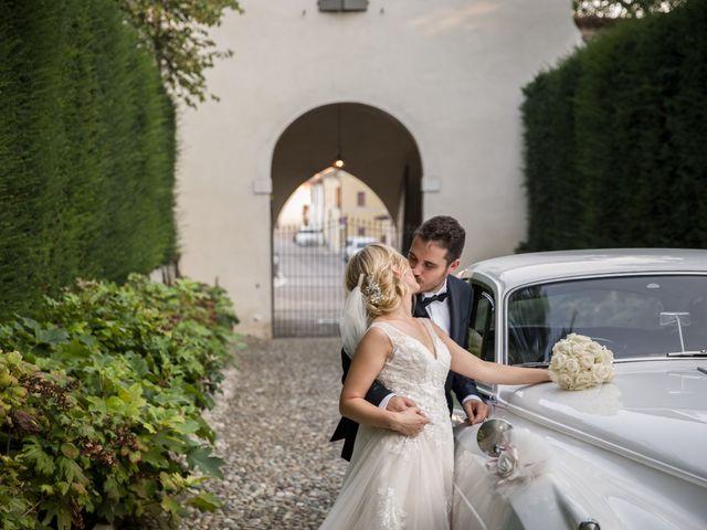 Il matrimonio di Davide e Paola a Castelnuovo Bocca d'Adda, Lodi 92